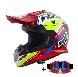 Wholesale Helmet S - Wholesale- Motorcycle Helmet Motocross Helmet Off Road Dirt Bike Casco Motocicleta Capacete Racing Moto Helmet S M L XL