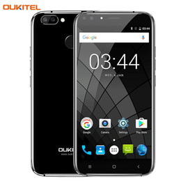 Wholesale Mini Tv Back - 3G Oukitel U22 2GB+16GB Dual Rear Camera with Dual Front Camera Fingerprint Identification 5.5'' Android 7.0 MTK6850A Quad Core