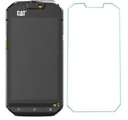 Wholesale Tracks Hd Wholesale - Wholesale- 2PCS High quality HD Screen Protector Protective film FOR CAT S60 protective film glass with tracking No
