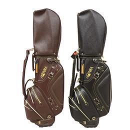 Sac de golf Sac de clubs de golf PU de haute qualité Ensemble de balles standard Sac de golf Cart sac noir et marron 2 couleurs ? partir de fabricateur