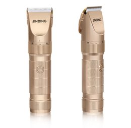 Wholesale Professional Used Clippers - JINDING Professional Hair Trimmer Rechargeable Men's Hair Clipper With Long Lithium Battery Life 4 Hour Using Cordless JD-9908