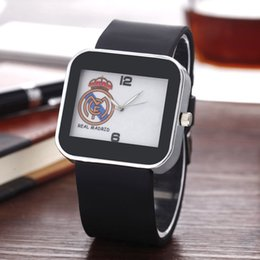 Wholesale Square Silicone Fashion Watches - Fashion Women Men's Unisex AD style brand Silicone Strap Analog Quartz watch AD10