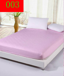 Wholesale Cotton Waterproof Mattress Pad - elastic Protection Pad mattress cover Fitted Sheet Twin full queen size reusable Waterproof Sheet Bed Pad mattress protector cove