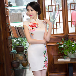 Wholesale Chinese Fashion Qipao - Chinese wind cultivate one's morality fashion women's clothing cheongsam manufacturer wholesale daily improved qipao dress party dress