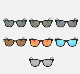 Wholesale Cheap Adult Gifts For Men - Smallwholesales High Quality Classic Polarized Sunglasses Cheap Desiger Full Plastic Frame Glasses For Men Women With Gift Box