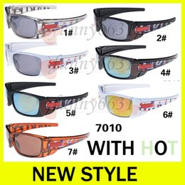 Wholesale Titanium Alloy Eyeglasses Frame - AA+++ good New Fashion Trend The Fuel Cell Sunglasses Brand Cycling Sports Outdoor Sun Glasses Eyeglasses Eyewear Cycling Sports FREE SHIP
