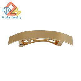 Wholesale Indian Wedding Hair Accessories - Wedding Hair Accessories Gold Color Hairpins Rectangular Lron Ladies Hairpins