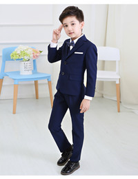 5 pcs / set Bébé Enfants Garçons Blazers Costume pour le Mariage Childern Garçons Robe Vêtements ? partir de fabricateur