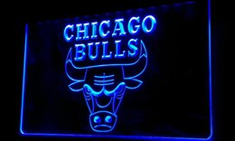 Wholesale Sports Neon Lights - Ls240-b-Bulls-Sport-Bar-Neon-Light-Sign Decor Free Shipping Dropshipping Wholesale 6 colors to choose