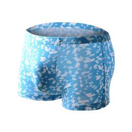 Wholesale Wholesale Mens Underware - Plus Size! Soft Breathable Bamboo Mens Underwear Boxers High Quality Men's Underware Shorts Bamboo Fiber Man Underpants