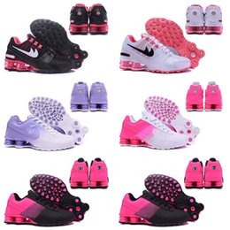 Wholesale Shox Athletic - New arrival Hot Sale Drop Shipping Famous Shox NZ Shox Deliver Womens Athletic Sneakers Sports Running Shoes Size 36-40