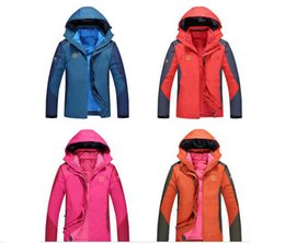 Wholesale Feather Ski Jacket - Factory direct sales feathers outdoor clothing mountaineering suits men jackets down jacket down jacket triple triple
