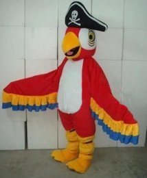 Wholesale Mascots Costumes Parrot - Real Pictures parrot mascot costume adlut suit bird cartoon character mascots for sale