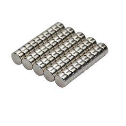 Круговые магниты онлайн-50pcs Disc 10mm x 5mm Magnet 10 * 5MM Редкоземельные магниты неодима Круглая модель корабля Neodimio Magneet Small Magneten