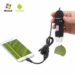 Wholesale Endoscope Camera Night - Portable 500x 800x 1000x USB Digital Microscope Camera Magnification Endoscope OTG with Stand for Samsung Android Mobile Windows