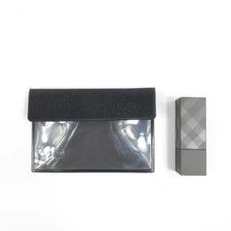 Wholesale Pvc Id Cards - Fashion brand beauty clear card case luxury folding business ID bank card bag coin purse designer tote logo clutch bag boutique VIP gift