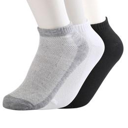 Vente en gros - 5 paires de chaussettes de cheville maillées femmes confortables et minces de couleur pure chaussettes élastiques d'été ? partir de fabricateur