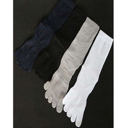 Wholesale Fingers Shoes - Men Women Camping & Hiking Five 5 Fingers yoga Socks With Toes Sports Socks Fitness Unisex shoes Breathable Soft outdoor Basketball Sock