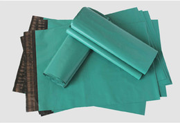 Wholesale Plastic Sealed Mailers - Green Color Poly Mailer  Plastic Shipping Mailing Bag Envelopes Poly bags  Strong Plastic Seal Postage Bags