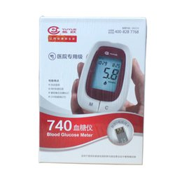 Wholesale yuwell monitors blood glucosemeter blood sugar tester glucometer monitor diabetes tester blood sugar machine NO strips