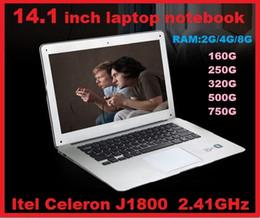 "Wholesale Cheap Tablets Pc Windows - DHL CHEAP LOW HOT 14"" 14 inch Dual Core laptop tablet pc 4G DDR3 500G Win7 Book j1800 j1900 Notebook Computer PC ultrabook laptops"