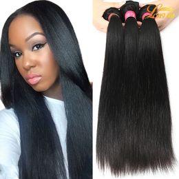 Wholesale Human Weave Hair Tangles - Factory Cheap Mink Brazilian Virgin Human Hair Extension Wholesale Unprocessed Peruvian Malaysian Indian Bundles Double Weft Soft No Tangle