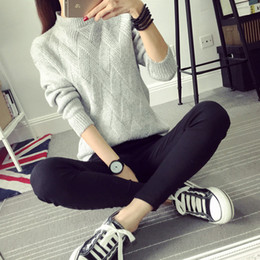 Wholesale Thermal Turtleneck Women - Wholesale-Winter women's 2016 turtleneck sweater female basic shirt pullover long-sleeve thick thermal sweater