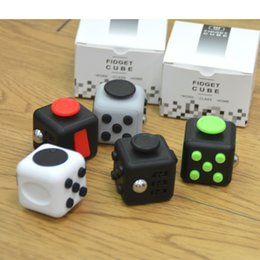 Wholesale Science Sale - Fidget Cube Kids Stress Relief Toys for Children Small Gifts Creative Dice Hot Sale 11 Color