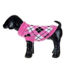 Wholesale Dog Jumpers - Puppy Pet Dogs Knitted Tops Jumper Sweater Coat Clothes Patterned Apparel