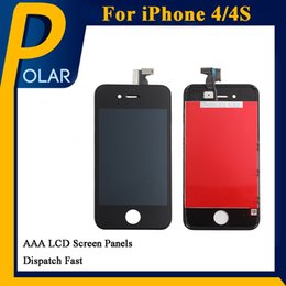 Wholesale Iphone 4s Lcd For Sale - Factory Sale LCD Display for iphone 4 iPhone 4s Touch Digitizer Complete Screen with Frame Assembly Replacement for iPhone 4 4s