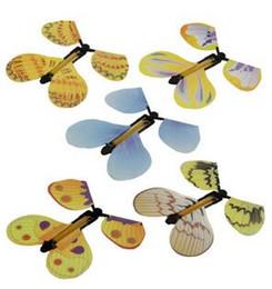 1000 pcs borboleta mágica voando borboleta mudar com as mãos vazias liberdade borboleta magia adereços truques de mágica de