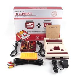 Wholesale Classic Free Tv - Authentic RS-35 CoolBady Video Game Console FC Red White Classic Family Game Machine TV Free TV Games 500 +132 in1 Game Card with 0801036