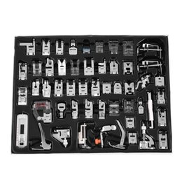 Wholesale Brother Presser Foot - 32 42 48 52 Pcs Sewing knitting crochet Domestic Machine Blind Stitch Darning Presser Foot Feet Kit Set For Brother Singer Janom