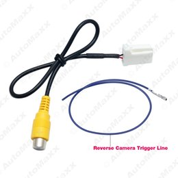 Wholesale Mazda Head Unit - FEELDO Car Parking Reverse Rear Camera Video Plug Converter Cable Adapter For Mazda Atenza CX-5 OEM Car Head Unit Models #2607