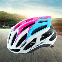 Wholesale Helmet Mountain Bicycle - Ultralight Cycling Protective Gear Outdoor Bicycle Bike Safety Helmets Highway Mountain Bike Sports Helmets for Men Women