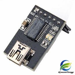 Wholesale Ttl Pin - New High Quality Basic Breakout USB-TTL 6 PIN 5V Module 10pcs lot free ship