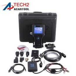 Wholesale Suzuki Tech2 - Best Quality GM TECH2 Full Set Support 6 Softwares(GM,OPEL,SAAB ISUZU,SUZUKI,HOLDEN) GM Tech 2 diagnostic tool DHL Free Shipping
