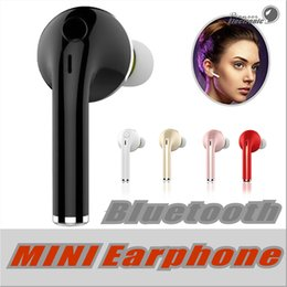 Wholesale Mic Bluetooth Handsfree Headset - V1 Mini Wireless Stereo Bluetooth Headset Earphone Handsfree With Mic Headphones For iPhone 6 7 Samsung S7 S8 S6 Xiaomi and More Bluetooth H
