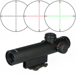 Wholesale Aims Scope - Hot Sale Style Long Distance 4x22 E Rifle Scope   Optical Tactical Airsoft Aiming for Hunting CL1-0007