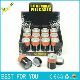 Wholesale Box Case Aa - Stealth Stash Diversion Safe AA Battery Pill Box Hidden Container Case Gift New