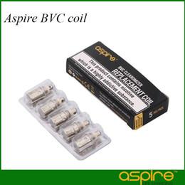 Wholesale Coil Heads For Vivi Nova - Aspire BVC Coil Head for CE5 CE5S ET ETS Vivi Nova Mini Vivi Nova 1.6 1.8 2.1ohm BVC Coils