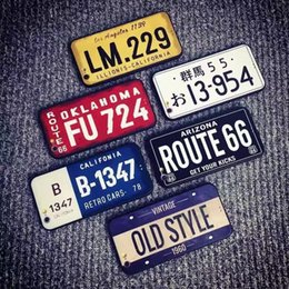 Wholesale Car License Plate Covers - Car Number License Plate Capa Funda Coque Phone Cover For Iphone 8 TPU Cases Car License Plate Number Phone Case For IPhone 7 Plus 6 6s