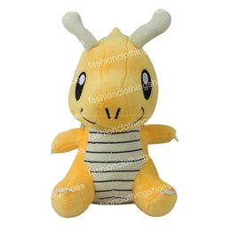 "Wholesale Pokemon Dragonite Toy - Hot Sale 6"" 16cm Dragonite Poke Pocket Monsters Plush Doll Stuffed Toy Pikachu Animals For Baby Gifts"