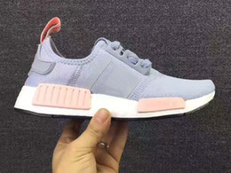 Wholesale New Shoes Pu Sole - Ultra Boost Sports Shoes In 2017, The New Unisex With New Color NMD Running Shoes Breathable Lace-Up Casual Shoes With Flat Sole