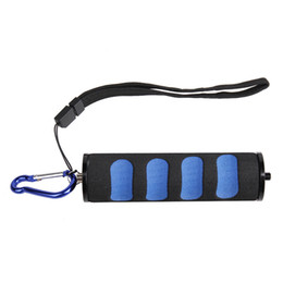 Wholesale Led Slr Flash - Foam Sponge Handheld Stabilizer Grip LED Flash Lights handle Stand For SLR camera light etc interface 1 4 Equipment