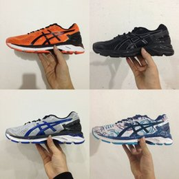 Wholesale Basketball Sneakers Authentic - Wholesale Price 2017 Asics GEL-KAYANO 23 Men Women Running Shoes Original Cheap Jogging Sneakers Authentic Sneakers Sports Shoes Size 36-45