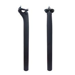 Wholesale Post Bikes - FCFB Full carbon seatpost offset 20mm bicyc seat post MTB road bike seatpost 3k carbon matte 27.2 30.8 31.6*400mm