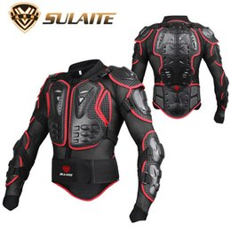 Wholesale Summer Motorbike Jackets - SULAITE Motorbike Motorcycle Body Protector Jacket Amour Skiing Motocross Racing Armor Clothing Spine Chest Protective Gear