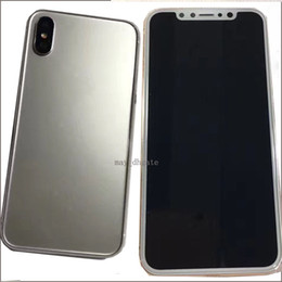 Wholesale Phone Mold - Fake Dummy Mould for Iphone X Metal Dummy Mobile phone Mold Only for Display Non-Working Dummy model