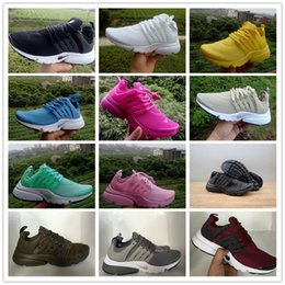 Wholesale Shoes For Walking Outdoors - 2017 Top quality Airs Presto 5 Running Shoes for Mens Women Fashion Pure Sports Outdoor Casual Walking Sneakers Size 36-45 Free Shipping